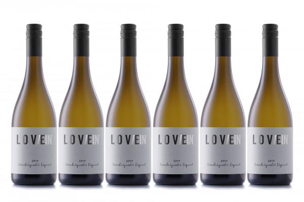 LoveWein, 6er, 2019 Grauburgunder Exquisit, trocken