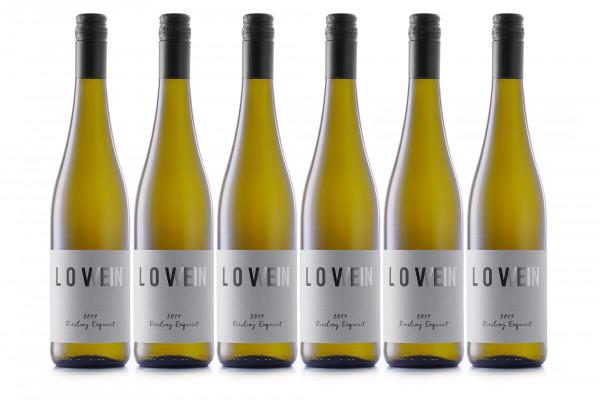 LoveWein, 6er, 2019 Riesling Exquisit, feinherb
